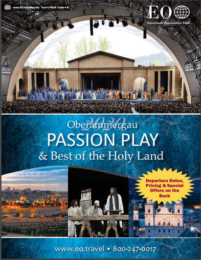 A Best of the Holy Land<br/>and Passion Play